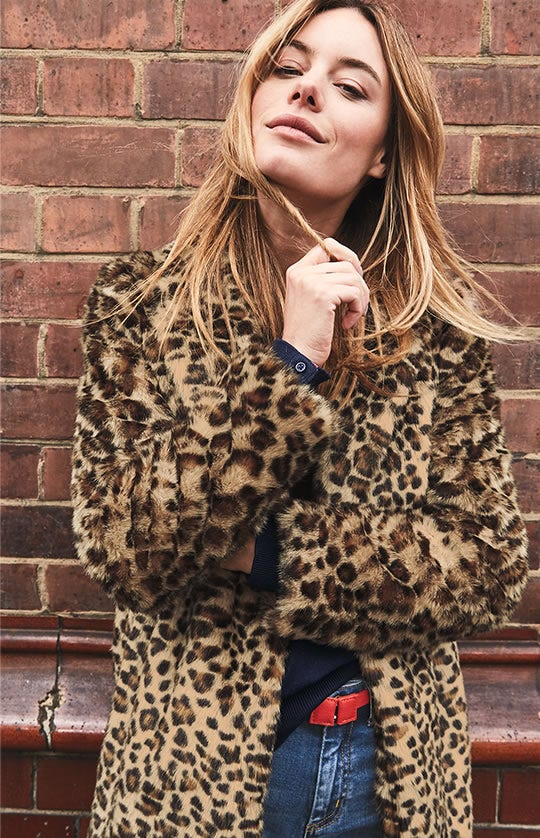Boxgrove Faux Fur Coat
