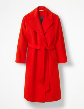 LINDFIELD WRAP COAT